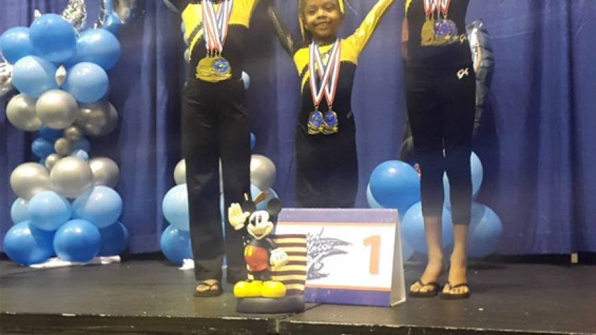 Level 2 Gymnasts Win First Place Team Award at 2016 Magical Classic